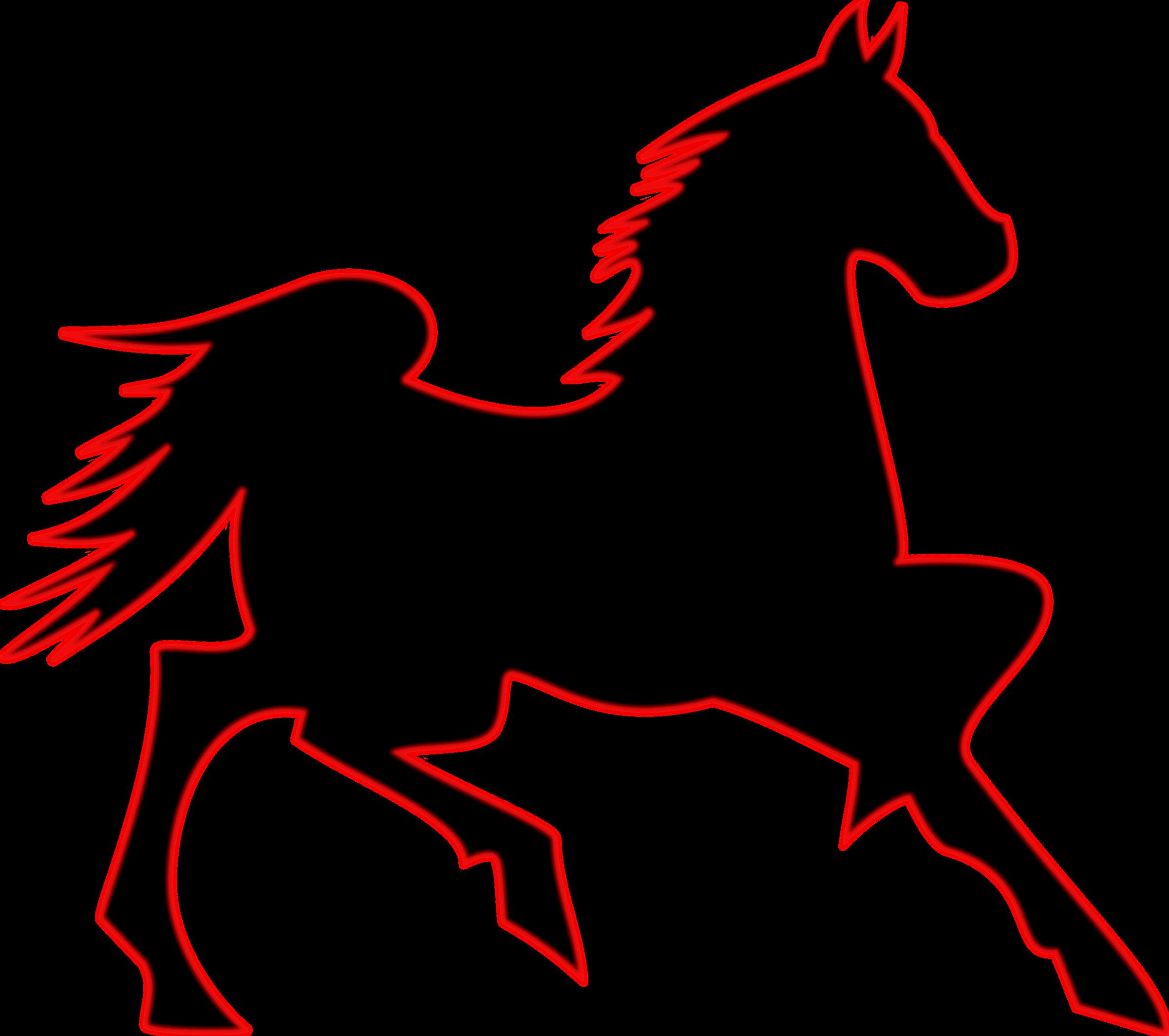 clipart horse quarter horse