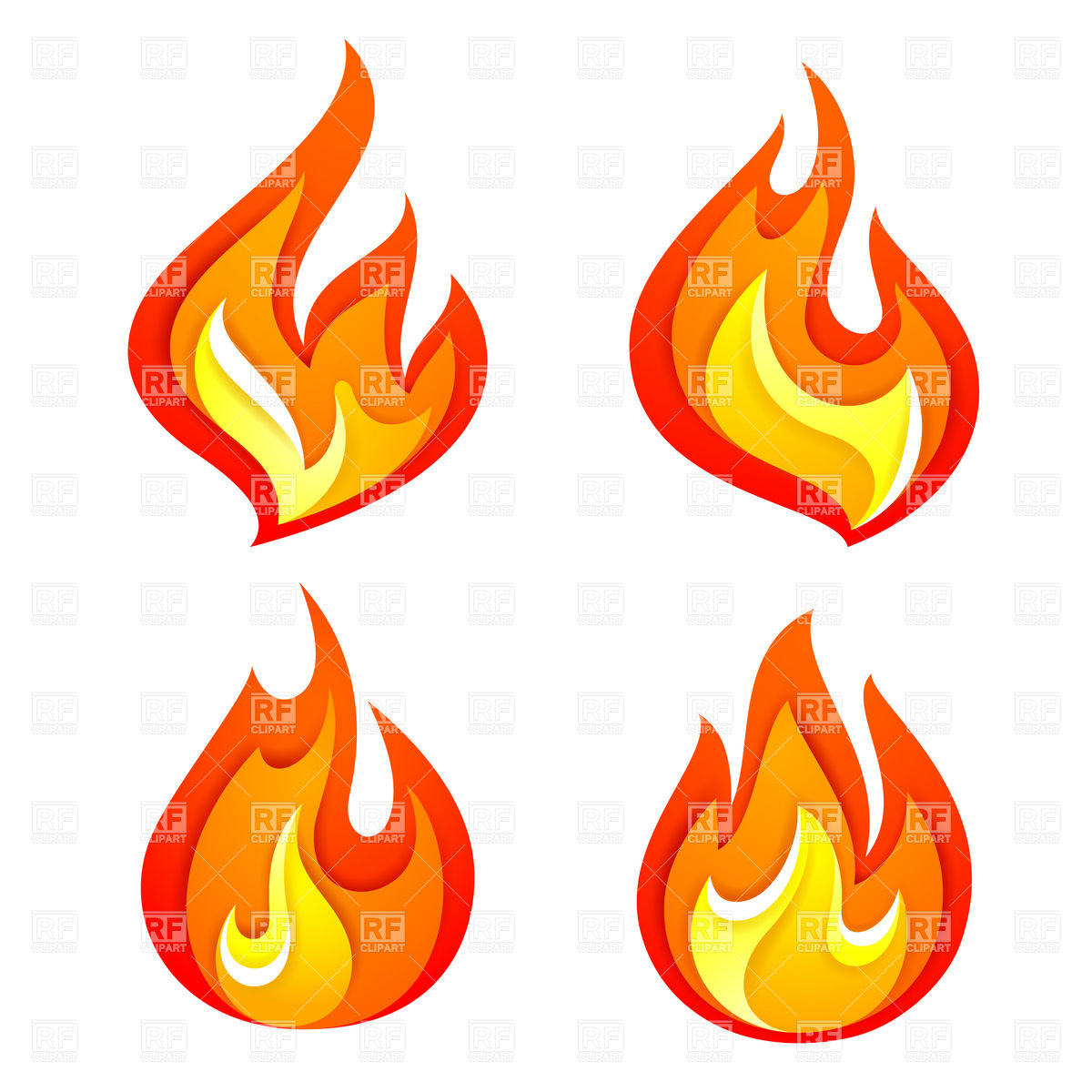 Hot deal icon symbolic. Flames clipart simple fire