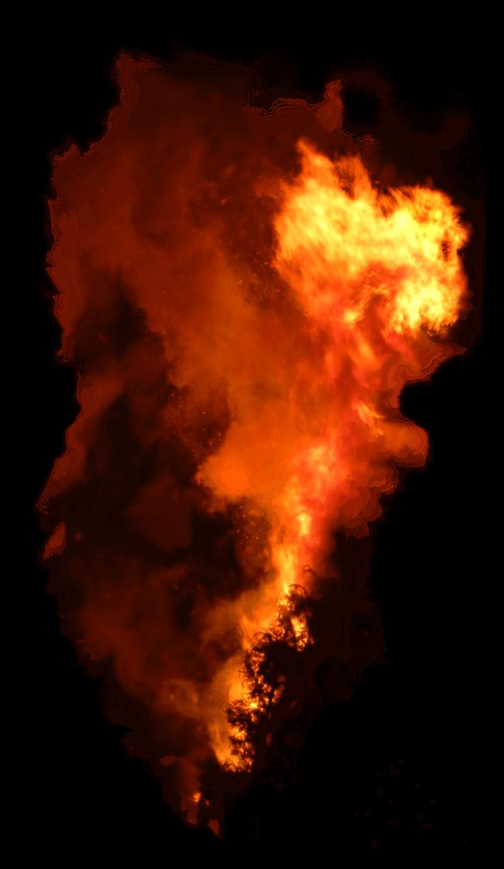 Fire smoke png. Vertical image purepng free