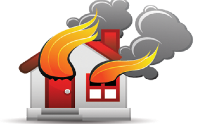 Fire clipart building. What should i do