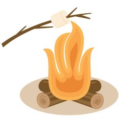 Clipart fire smore. Free download best on