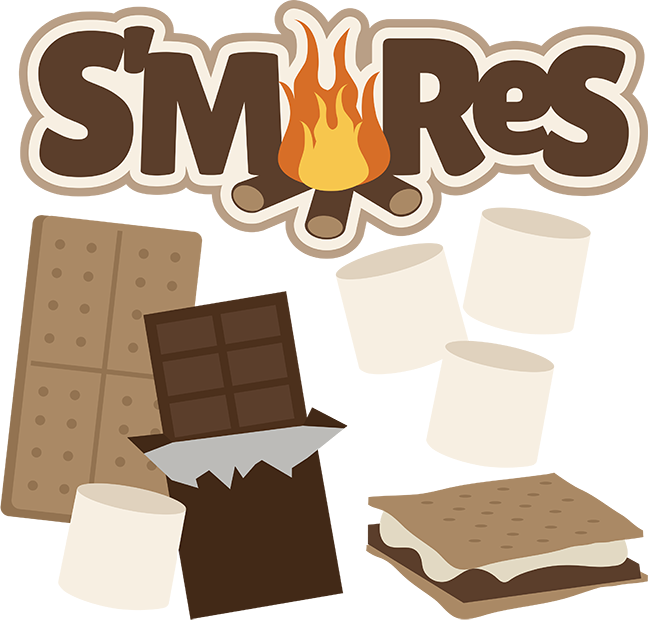 Clipart fire smore. Life at the bay