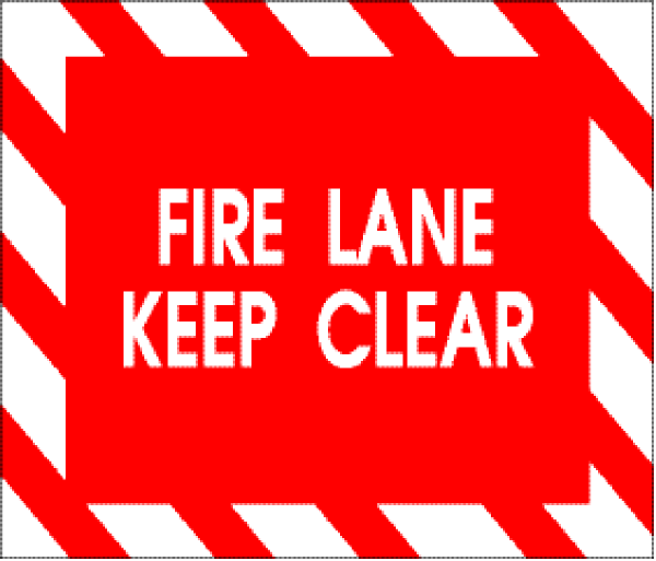 Lane keep clear clip. Clipart fire text
