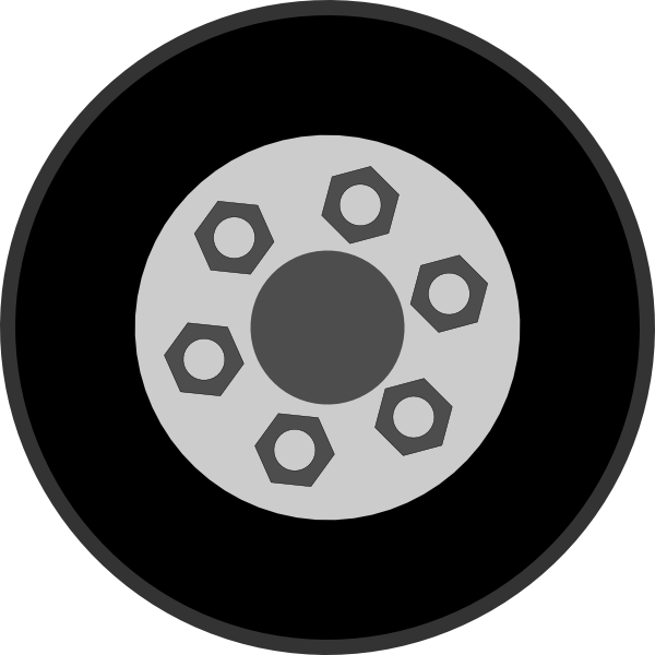 collection of truck. Wheel clipart circle thing