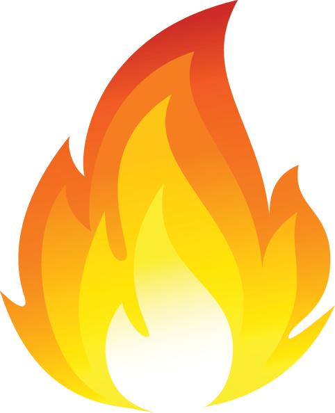 Cartoon flames png stickpng. Fire clipart transparent background