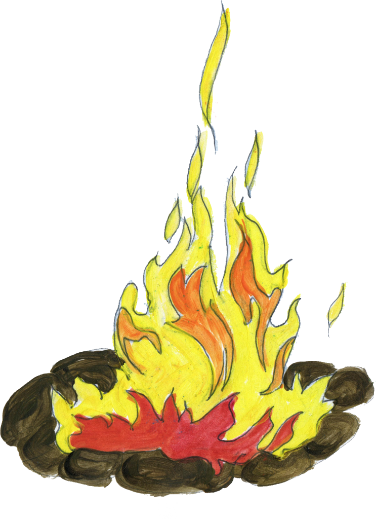 Place drawing at getdrawings. Flames clipart chimney fire