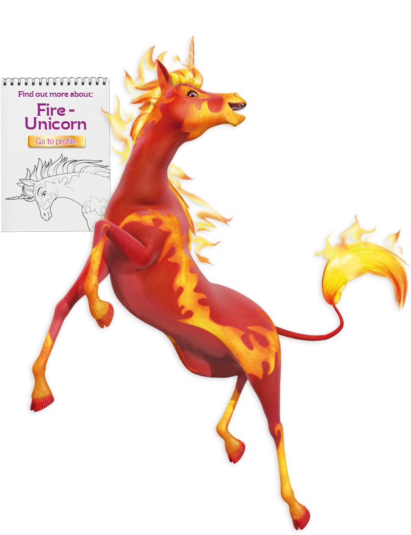 Fire clipart unicorn. Pin by moonlight ro