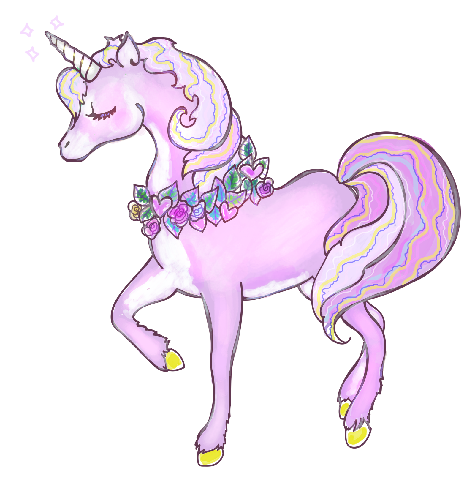 Png free icons and. Clipart unicorn high resolution