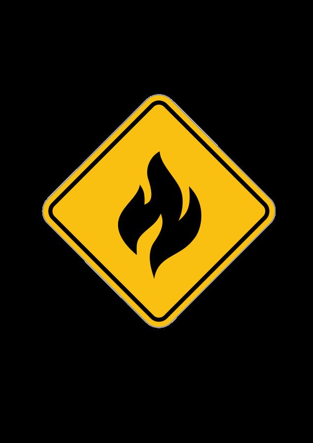 Alert svg file clip. Clipart fire vector