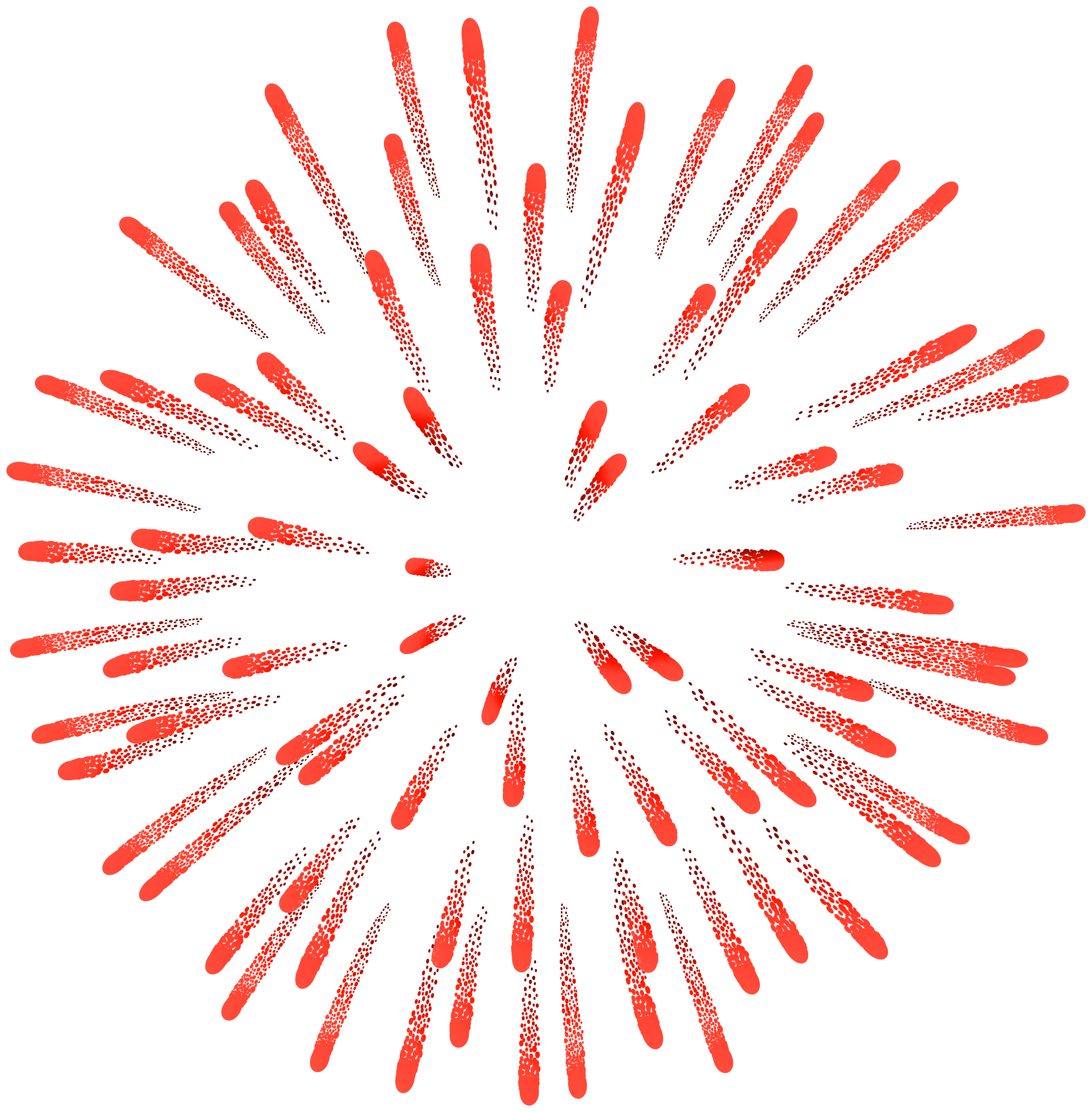 Firework red png clip. Clipart fireworks
