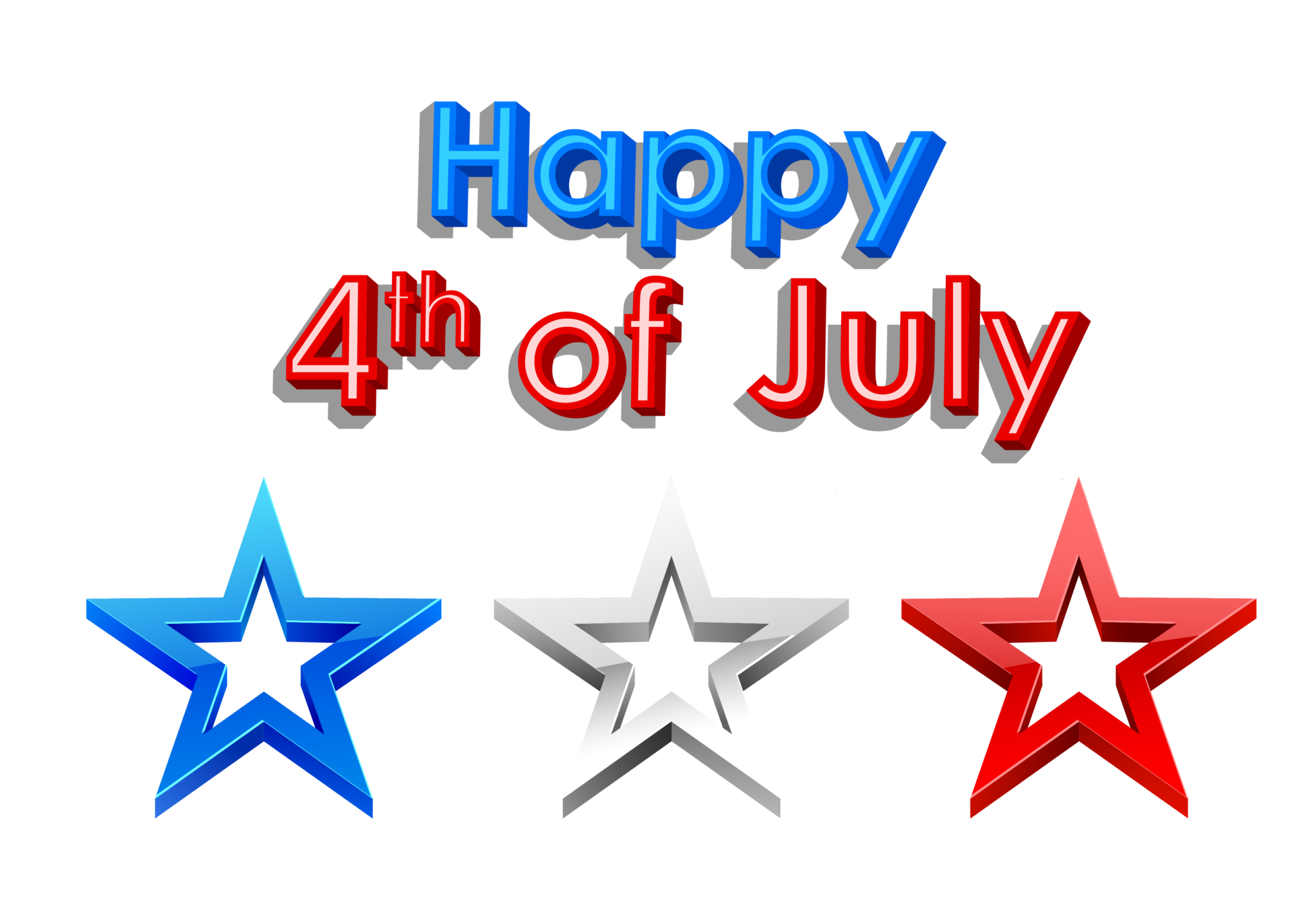 th of free. Clipart fireworks 4th july