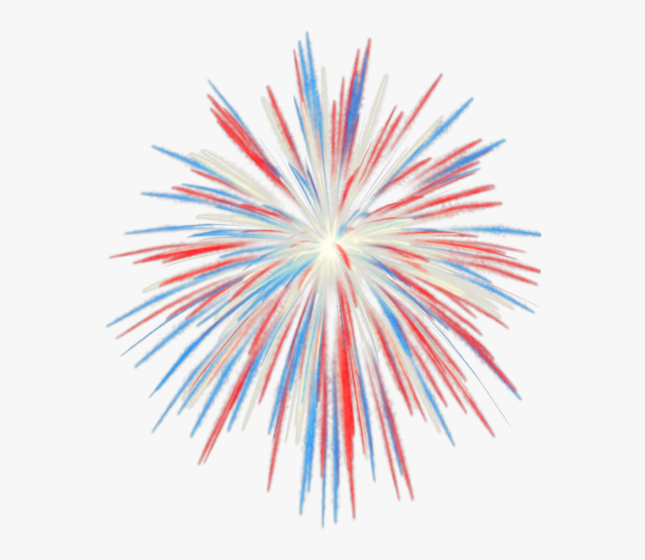 Firework fourth of july. Clipart fireworks