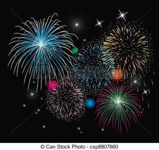 Free station . Clipart fireworks animated