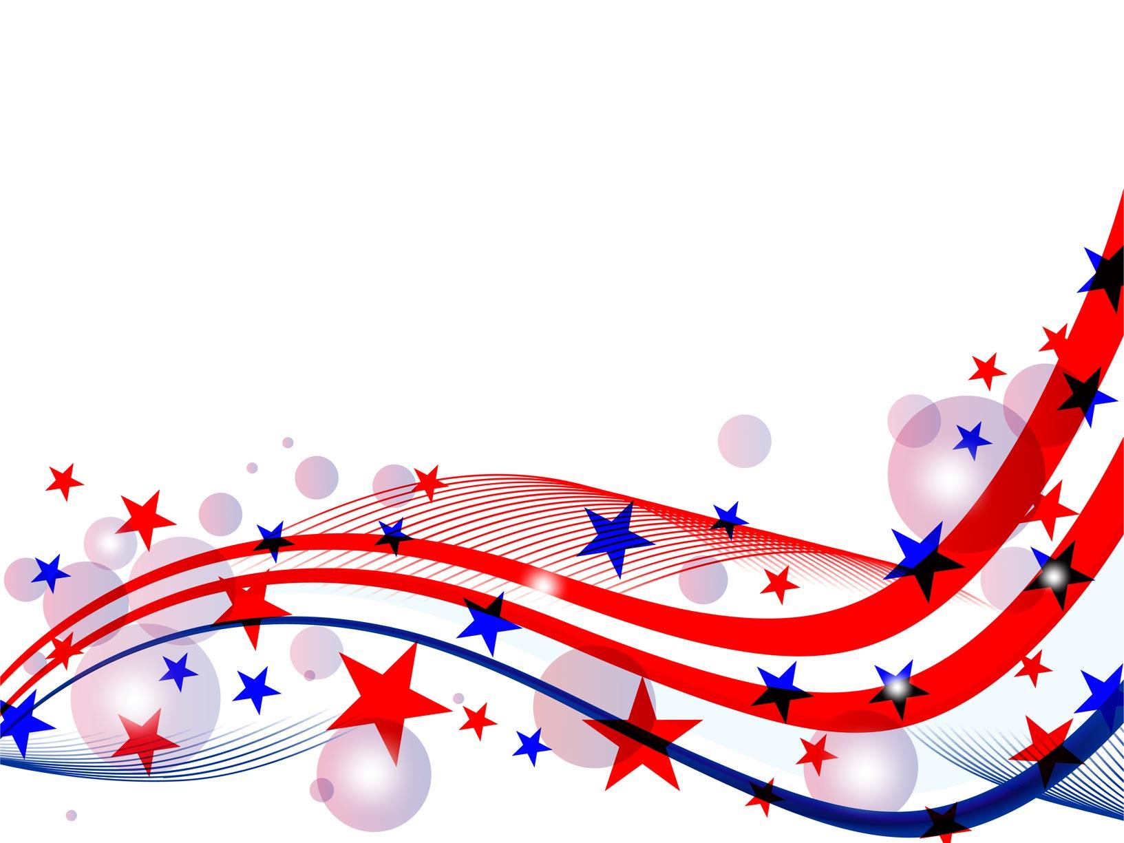 Fourth of july fireworks. Firecracker clipart banner