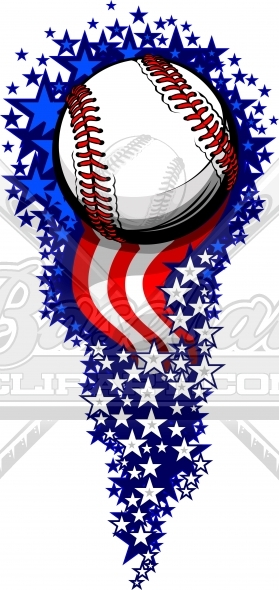 Clipart fireworks baseball. July th image for