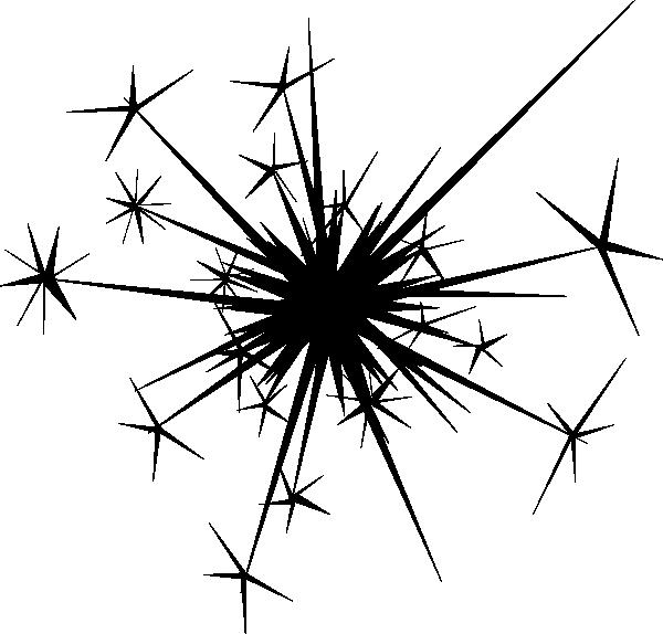 Clipart fireworks black background. Sparkle clip art google