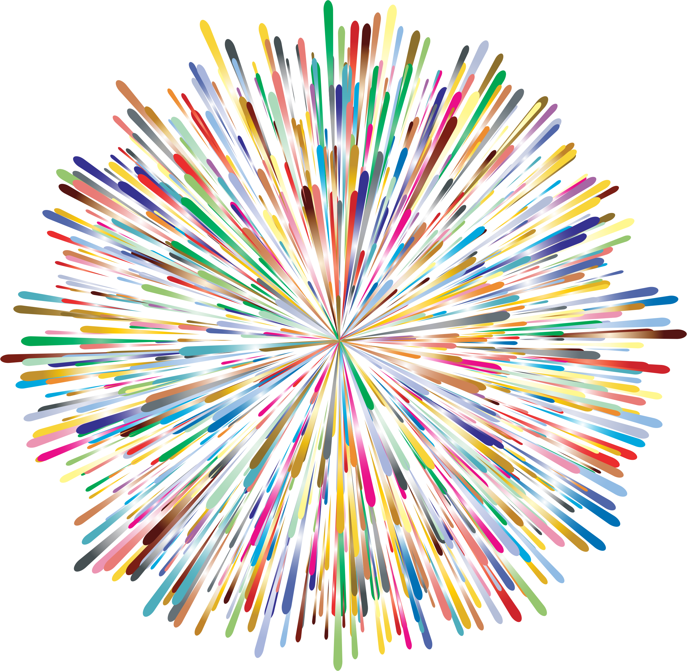 Prismatic no icons png. Clipart fireworks black background