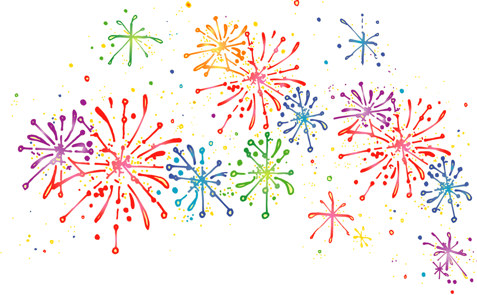 Clipart fireworks border. Images of firework spacehero