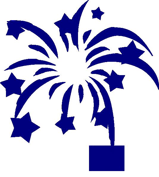 Navy Fireworks Clipart Clip Art at Clker