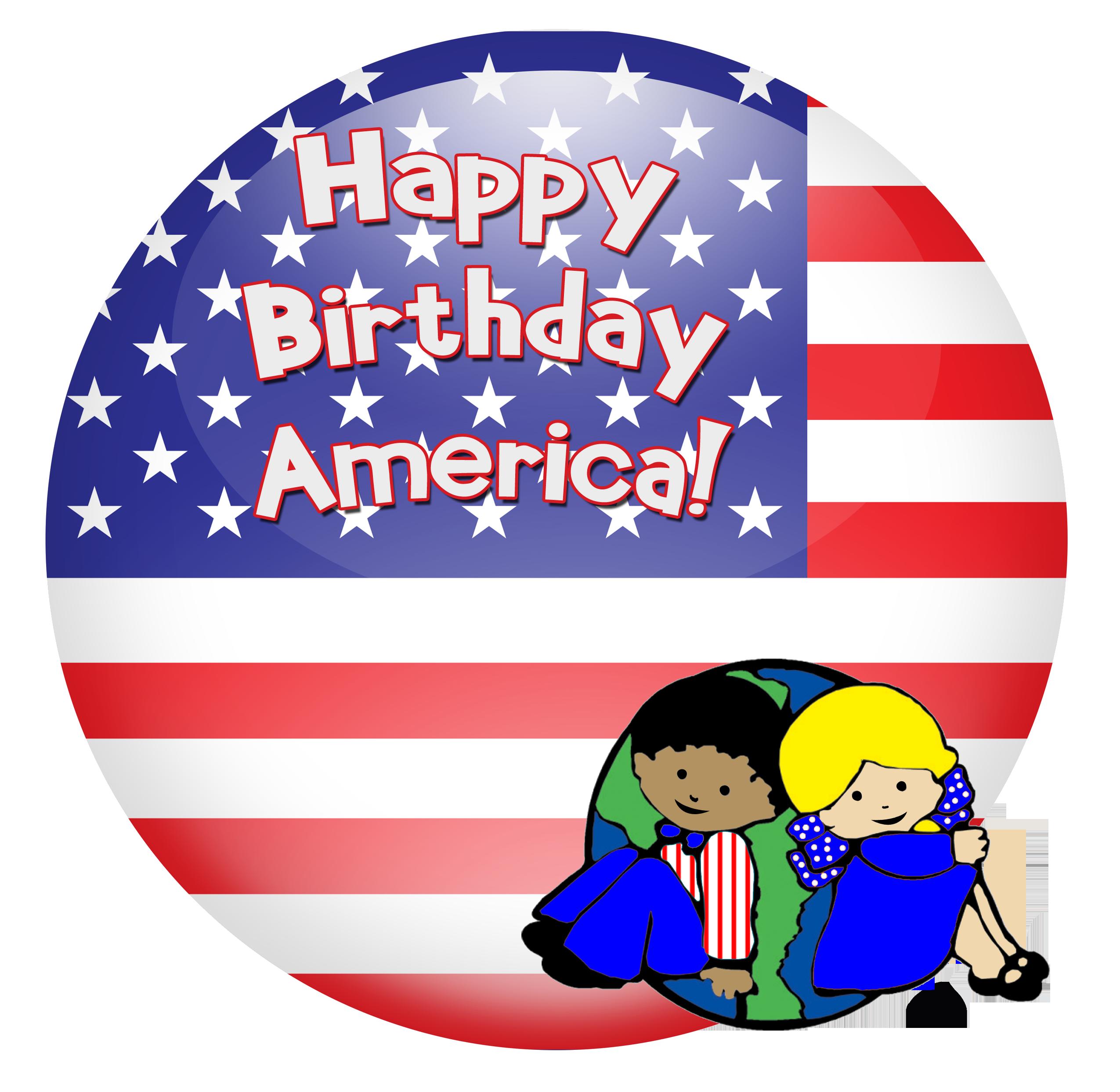 Happy birthday america th. July clipart heat