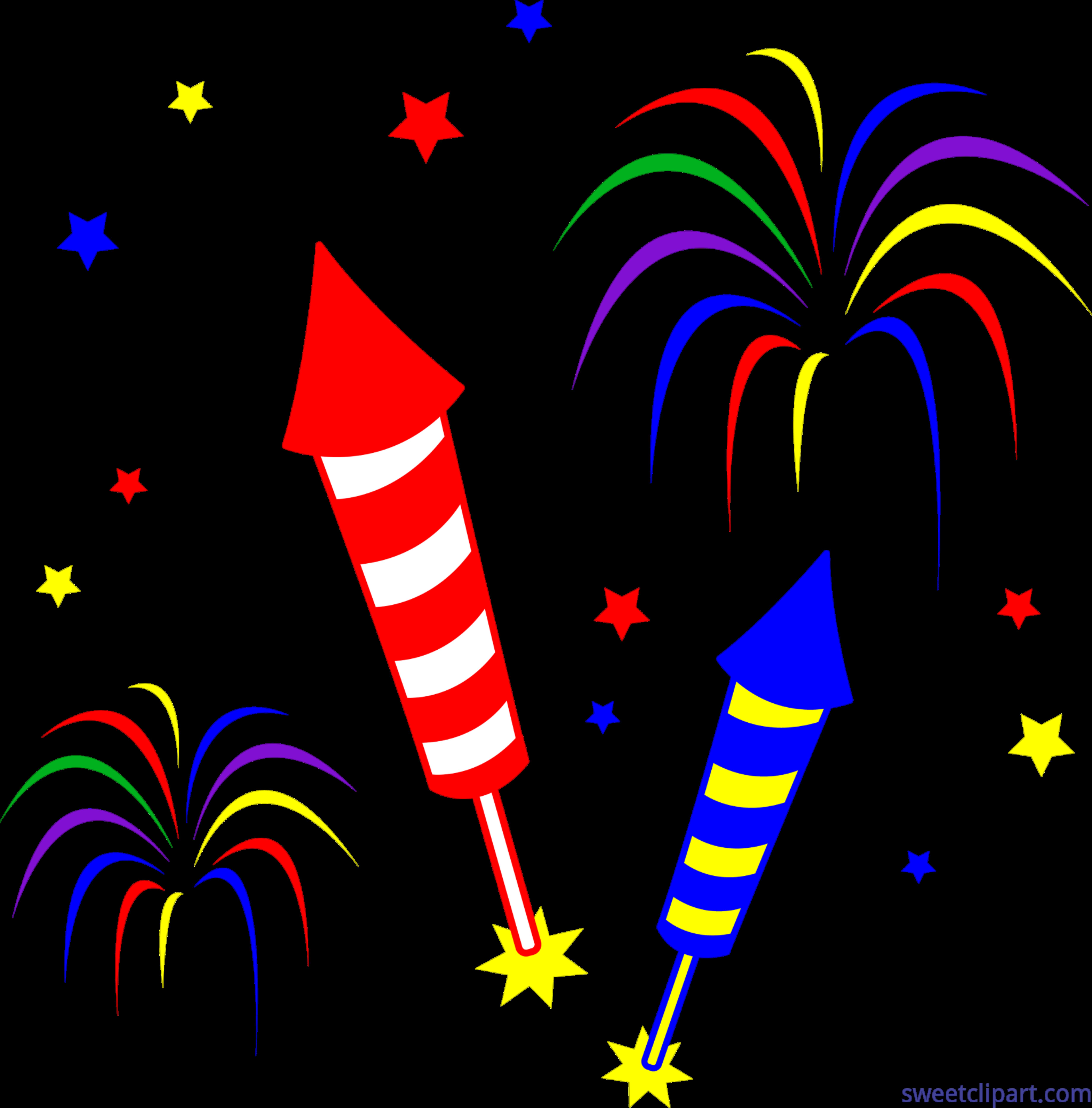 Rockets sweet. Clipart fireworks clip art