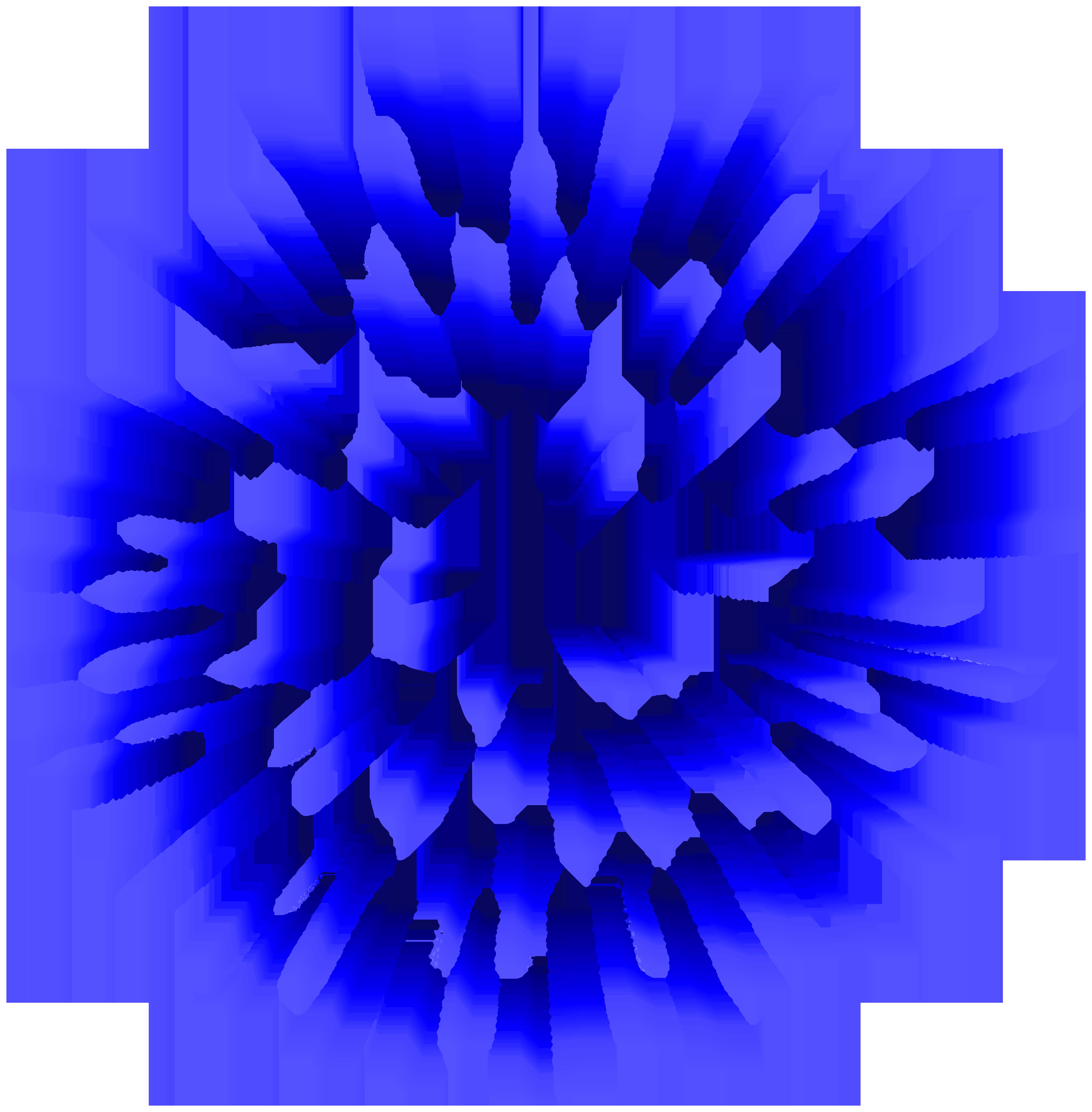 Firework blue png image. Clipart fireworks clip art