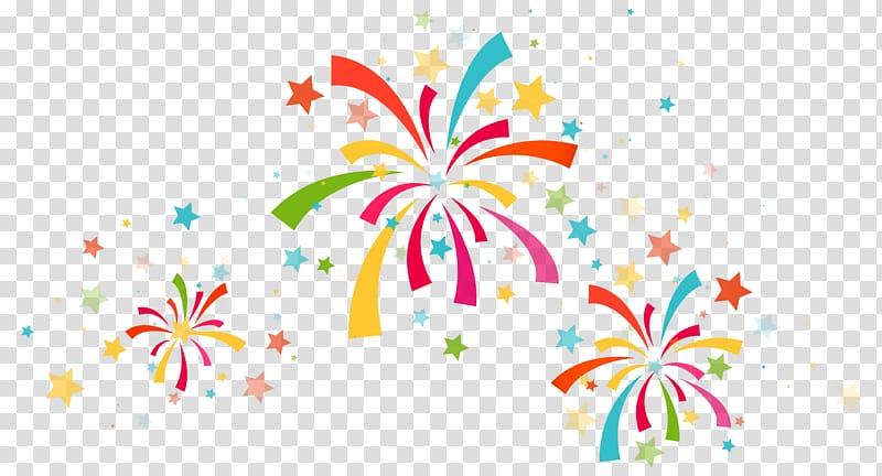 Fireworks display illustration birthday. Firework clipart confetti