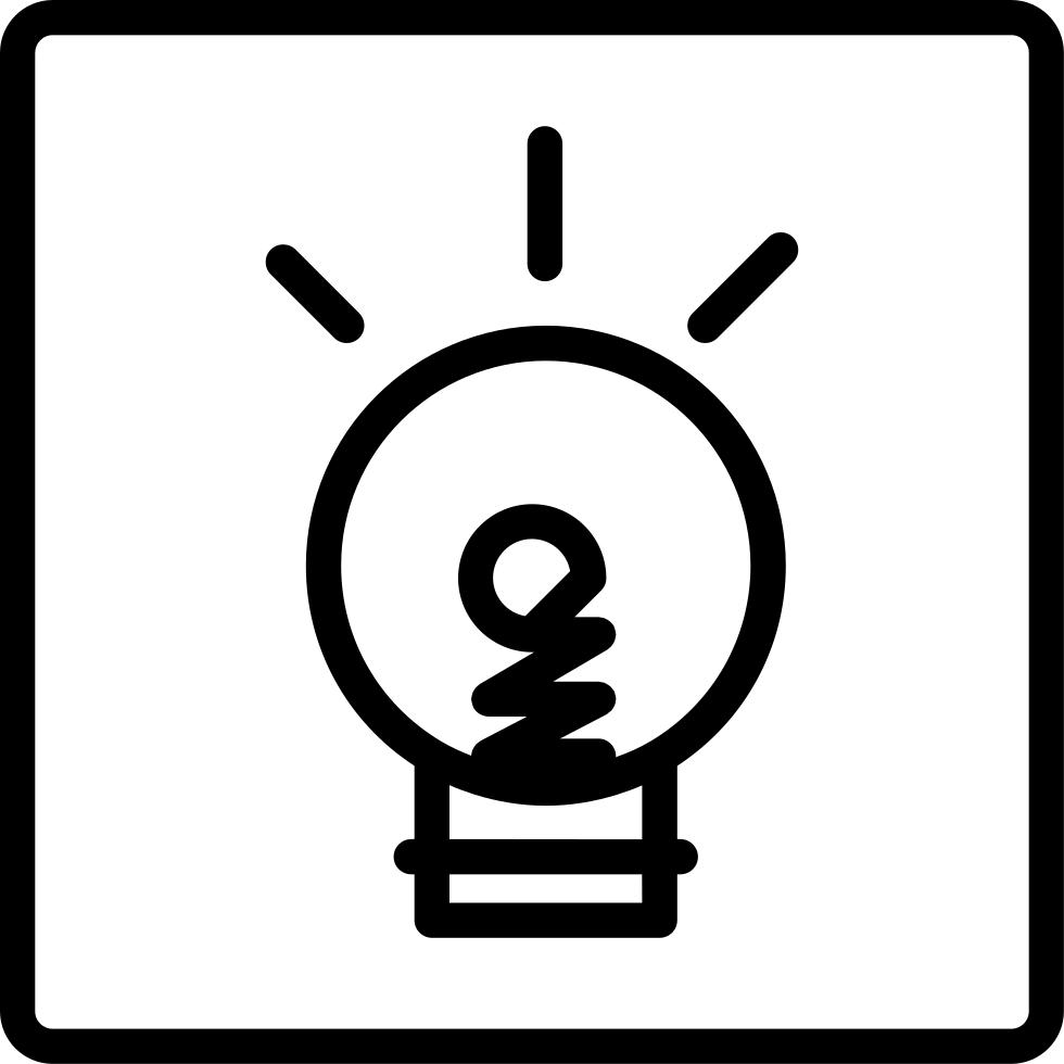 Clipart fireworks doodle. Light bulb on a