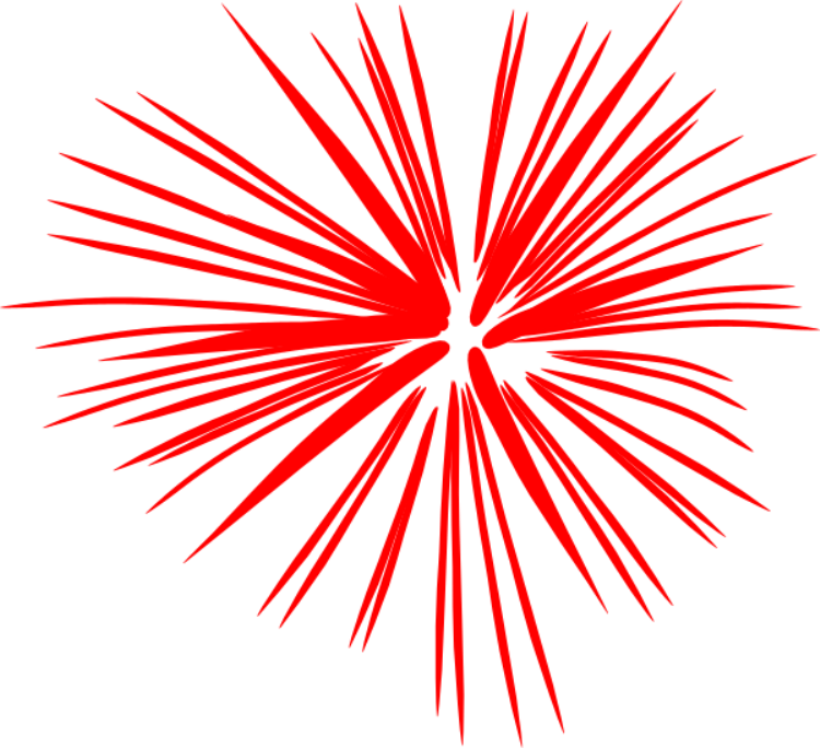 Firework clipart motion. Best th of july