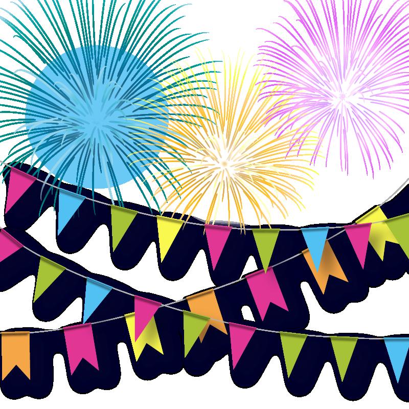 Firework clipart flag. Adobe fireworks color festive