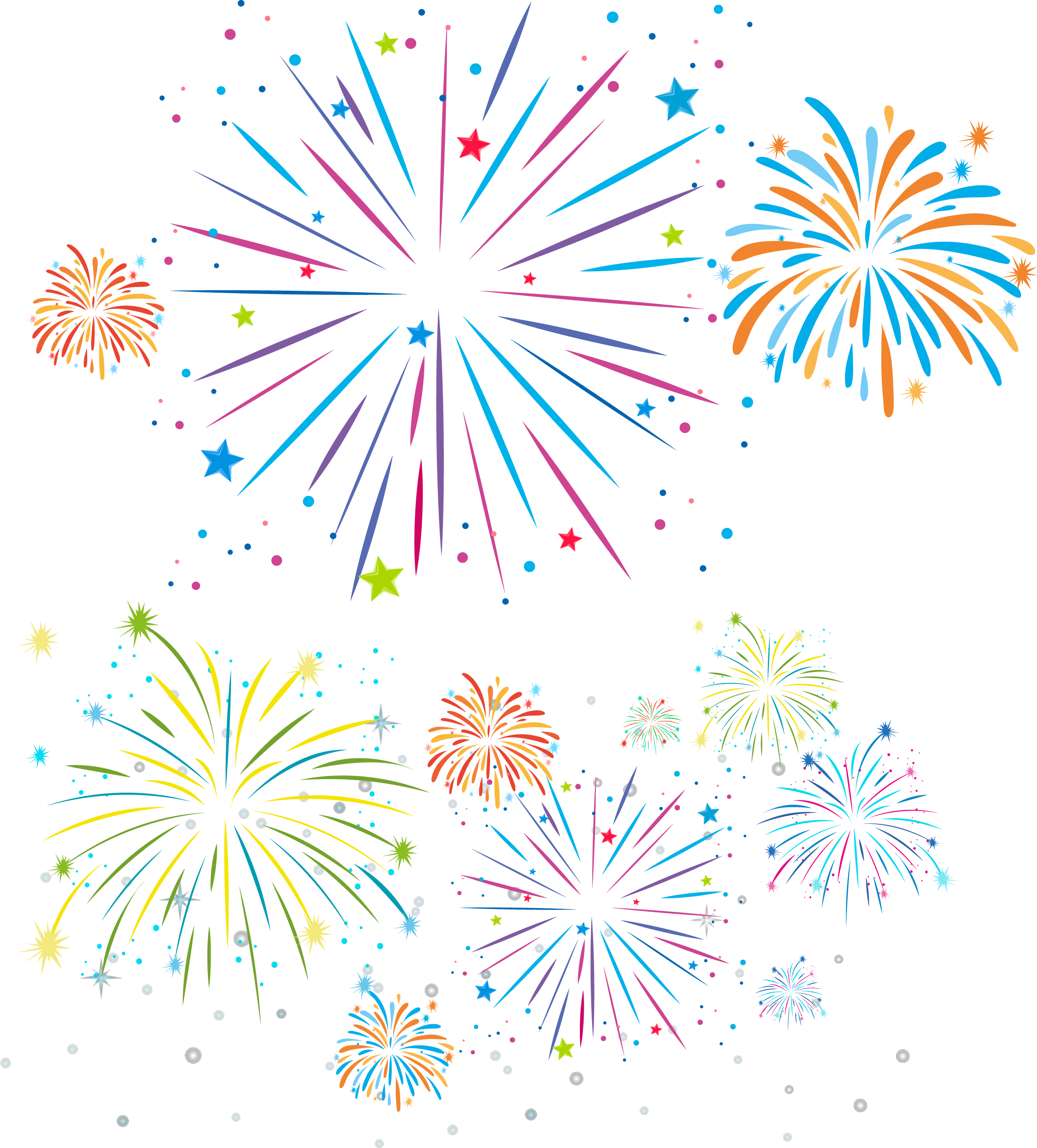 Fireworks drawing royalty free. Firework clipart festivity