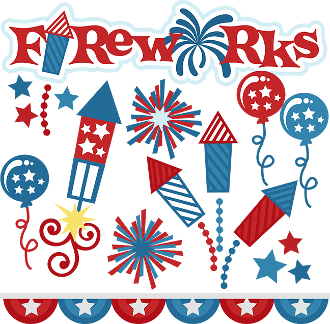 Fireworks SVG cut files for scrapbooking fireworks svg files