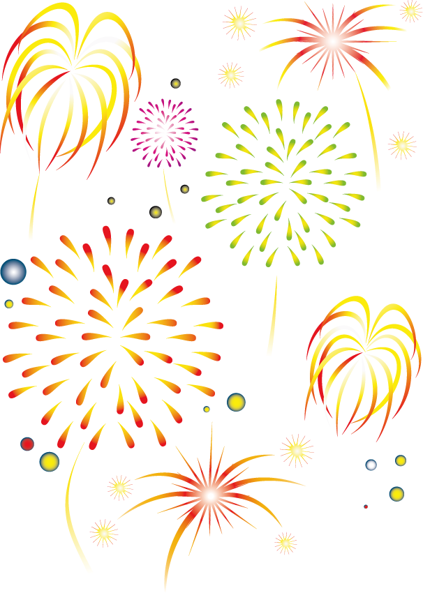 Clipart fireworks firework chinese. New year lantern public
