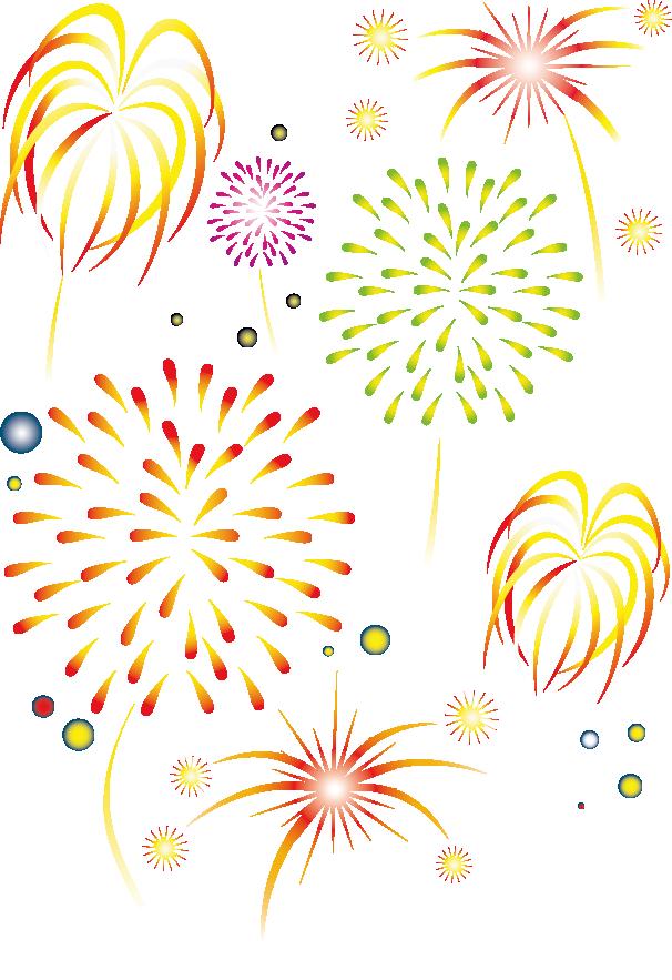 New year fireworks lantern. Firework clipart firework chinese