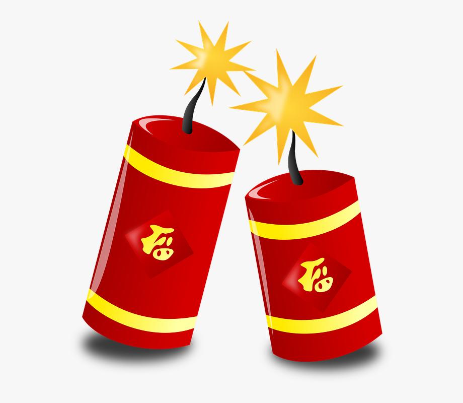 Firework clipart firework chinese. Fireworks new year free