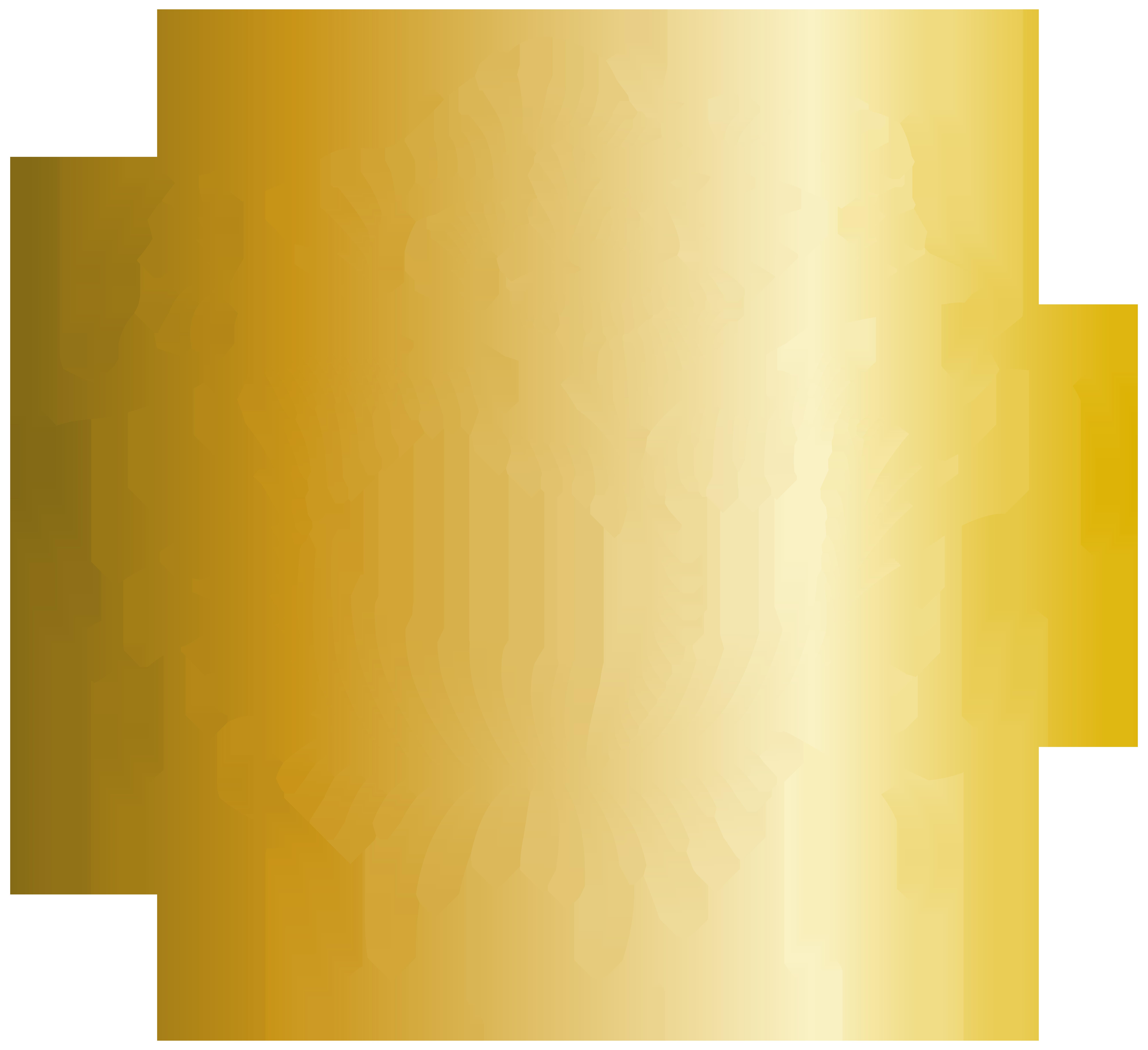 Golden Rose PNG Clip Art Image