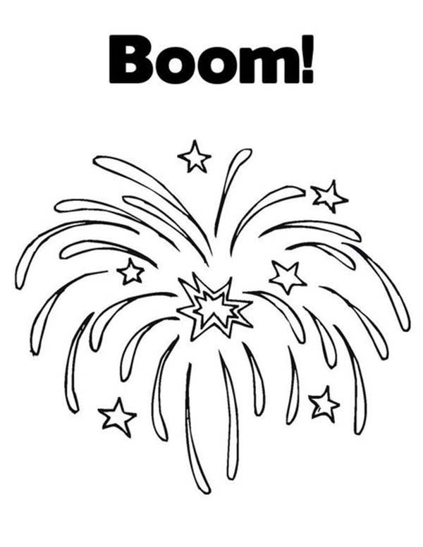 Firework clipart halloween. Colouring pages hoots new
