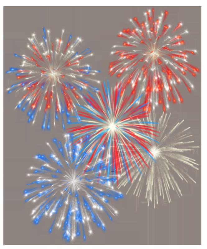 th july transparent. Firecracker clipart firework display