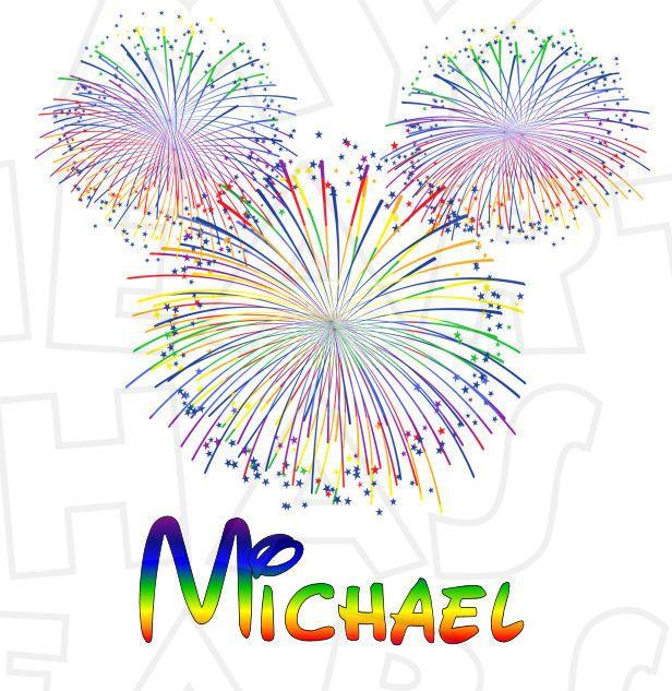 Pin on disney minnie. Clipart fireworks mickey
