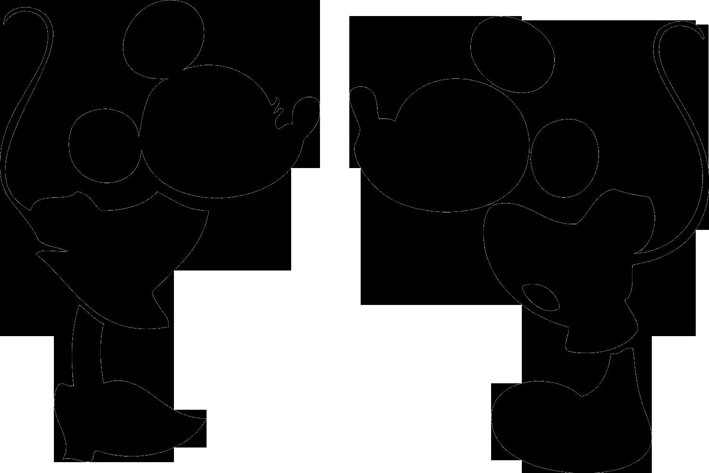 Disney world castle silhouette. Clipart fireworks mickey