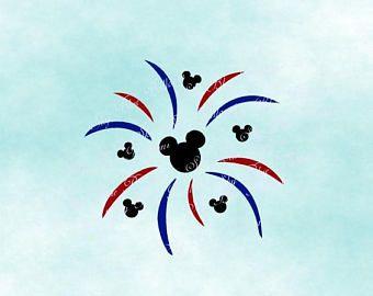 Disney fireworks svg mouse. Firecracker clipart mickey