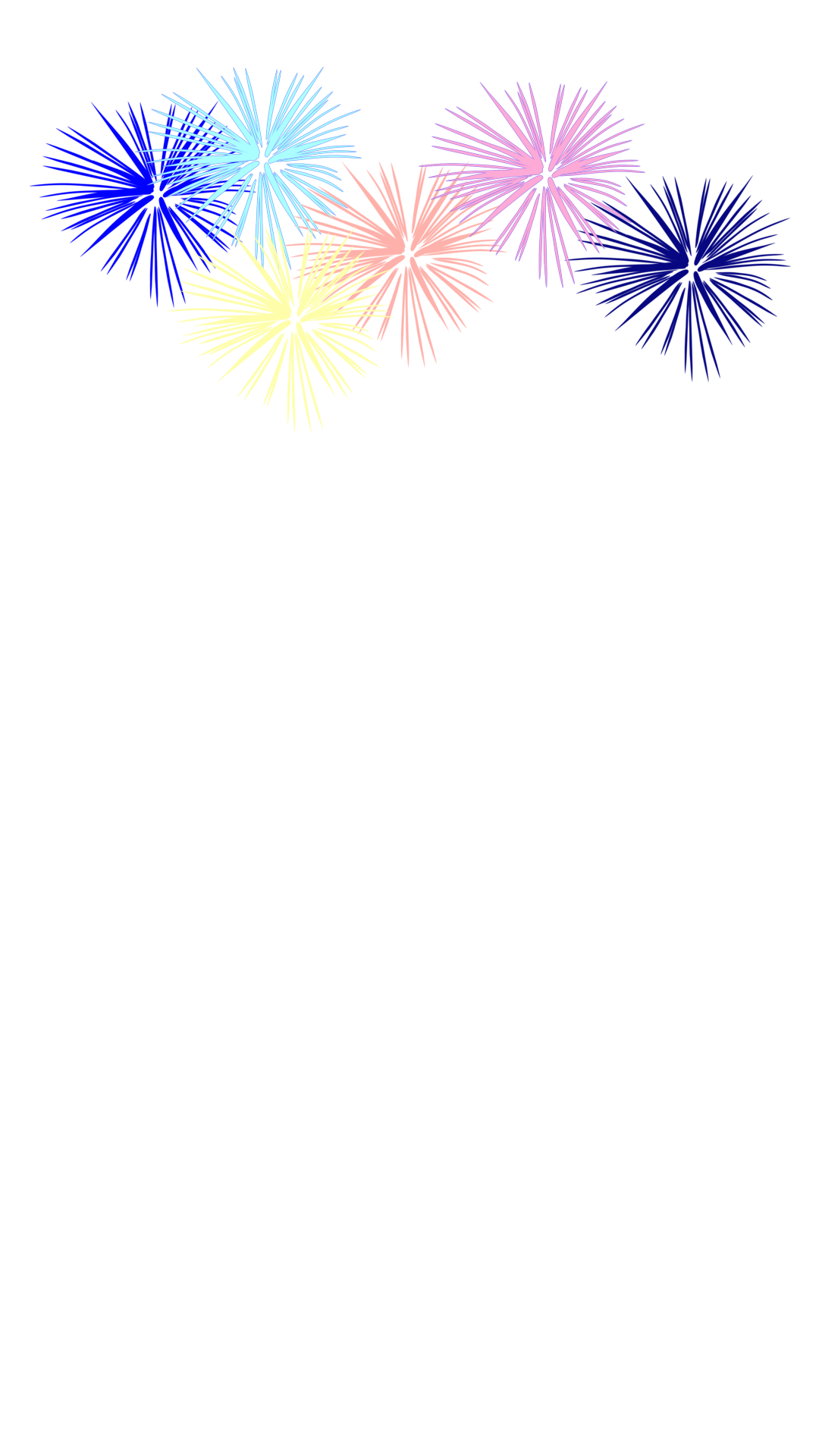Colorful s snapchat filter. Clipart fireworks new year firework