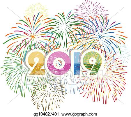 Vector art displayed for. Clipart fireworks new year firework