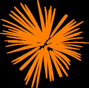 Firework clipart orange. Large fireworks clip art