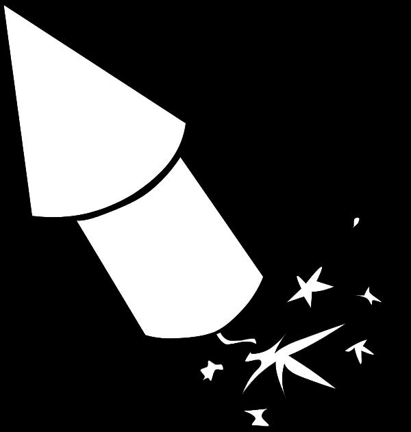 Clipart rocket firework. Fireworks clip art firecracker