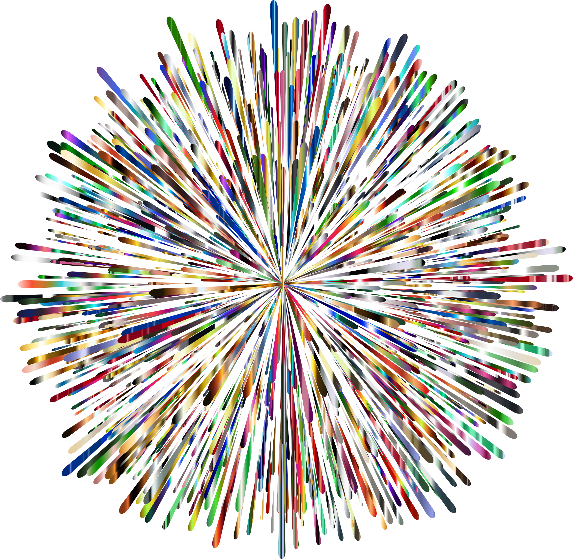 Clipart fireworks pdf. Prismatic no background big