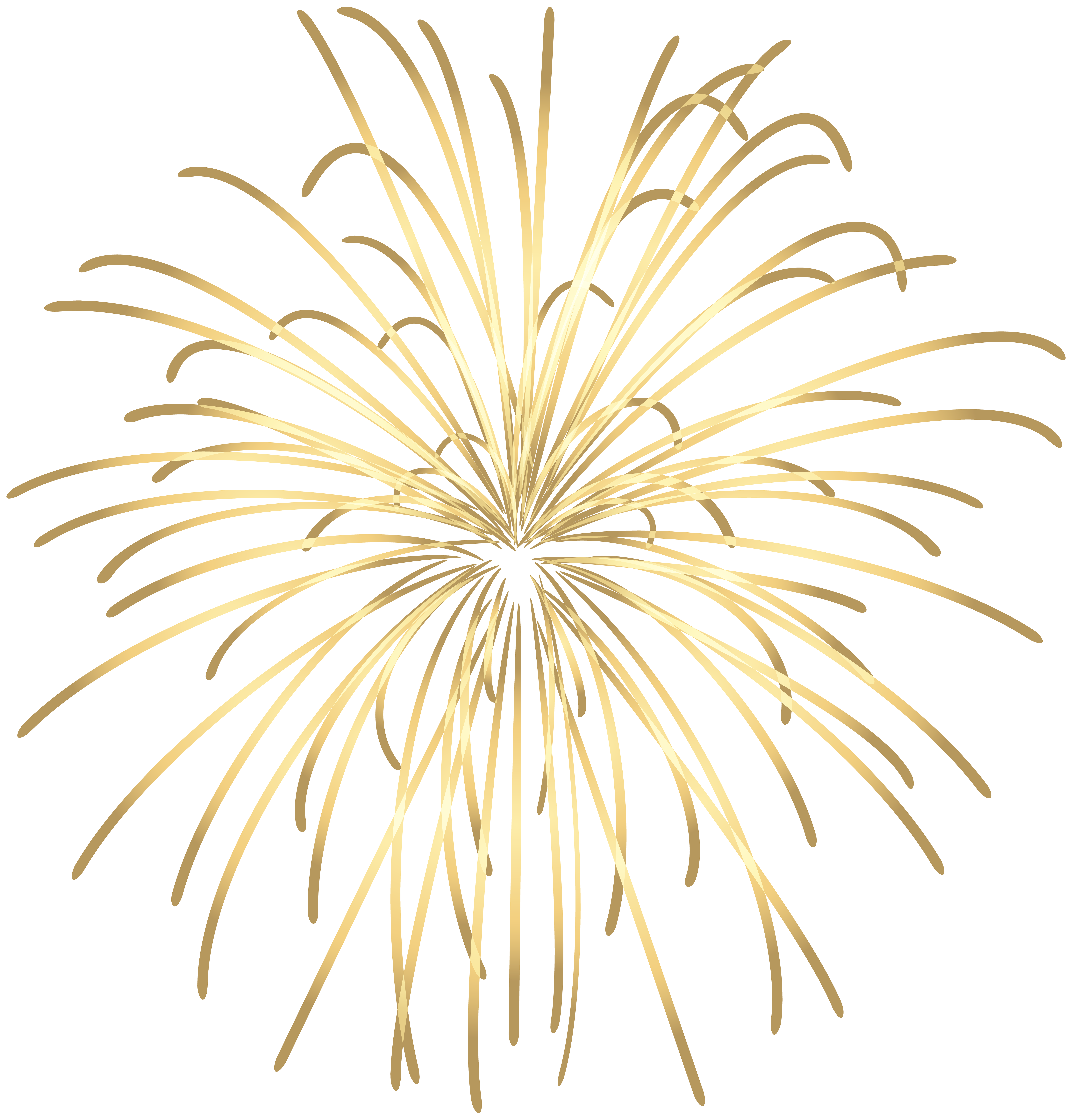 Clipart fireworks simple.  collection of gold