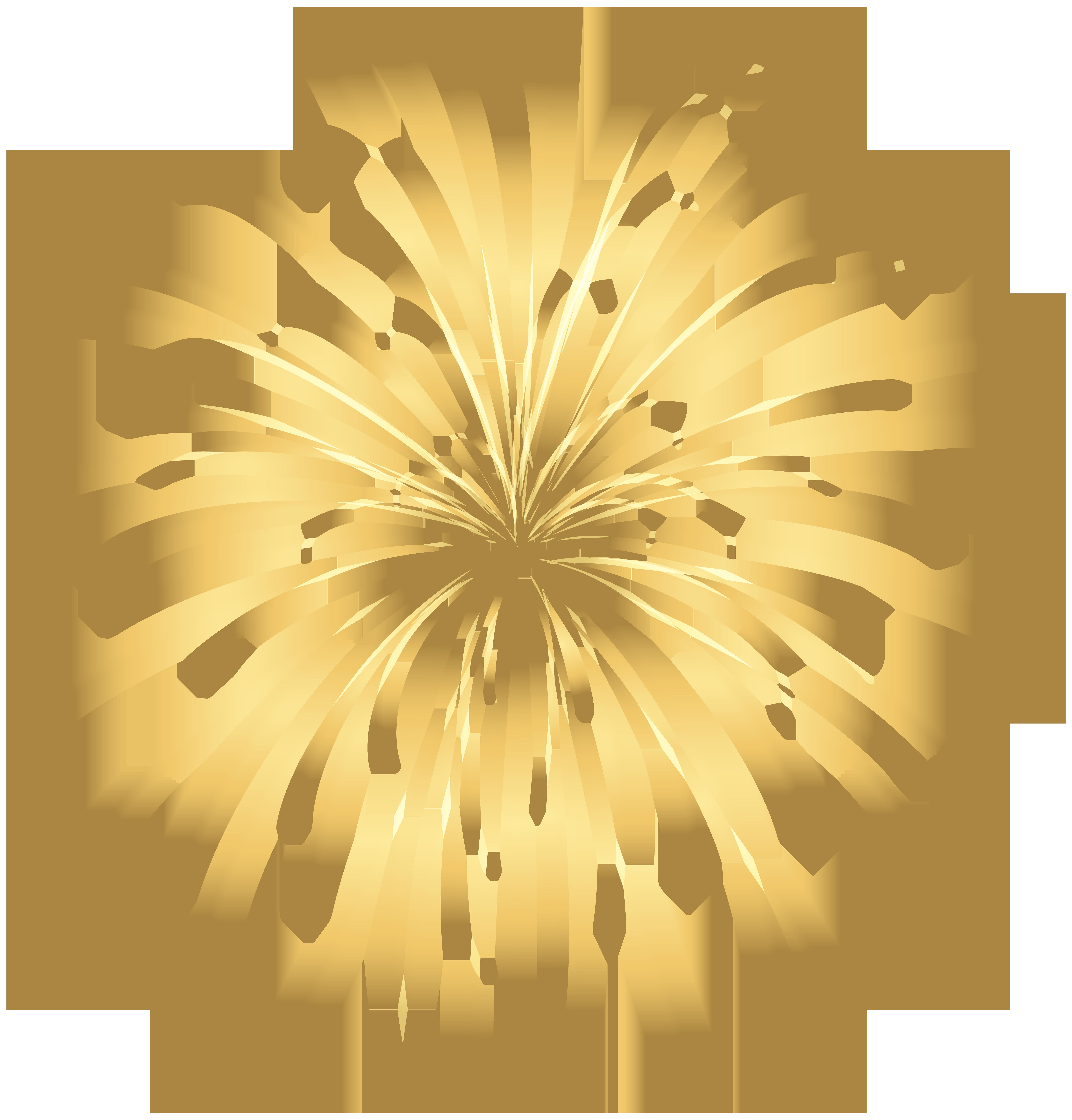 collection of gold. Firecracker clipart sparkler