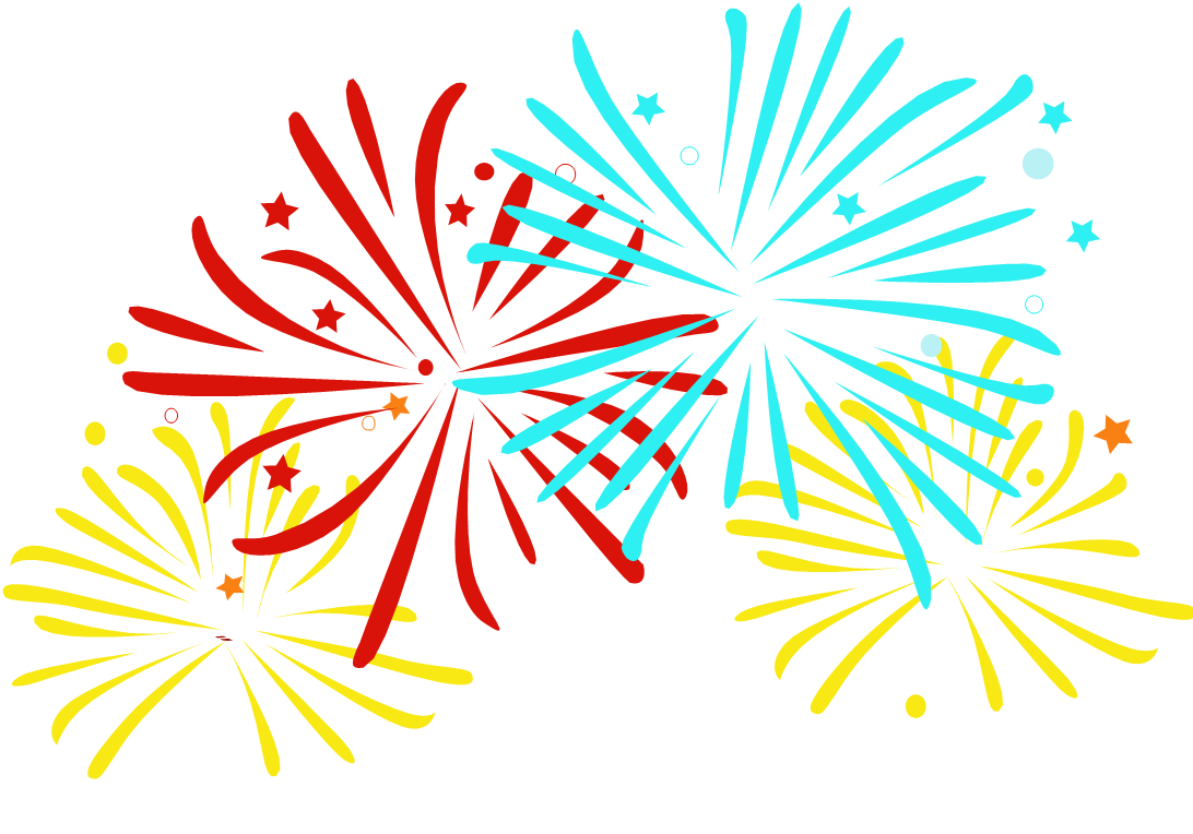 Free celebration cliparts download. Clipart fireworks summer