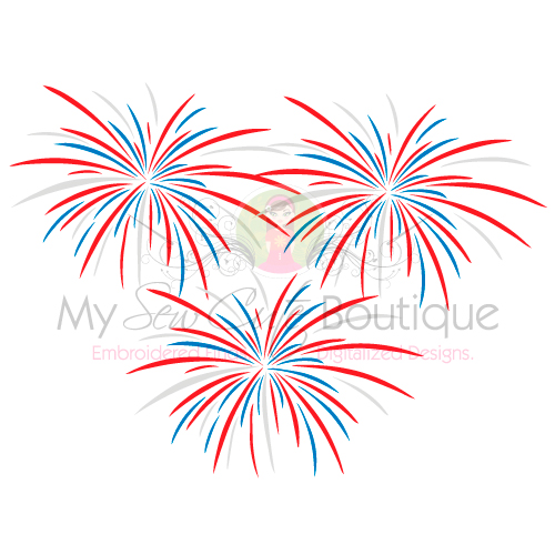 Clipart fireworks svg. Files th of july